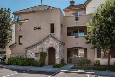 Chula Vista Condo/Townhouse For Sale: 1346 Nicolette Ave. #1226