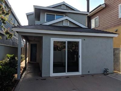 Coronado Single Family Home For Sale: 369 Alameda Blvd