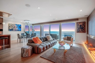 Del Mar Condo/Townhouse For Sale: 1750 Ocean Front