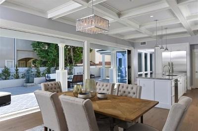 La Jolla CA Single Family Home For Sale: $3,995,000
