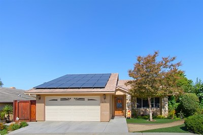 Escondido Single Family Home For Sale: 2175 Firethorn Gln
