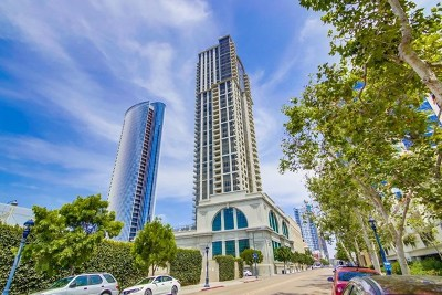 San Diego Condo/Townhouse For Sale: 700 W E St #301
