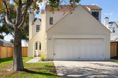 Carlsbad Single Family Home For Sale: 4547 Chancery Ct