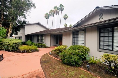 El Cajon Single Family Home For Sale: 2559 Pence Drive