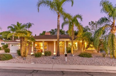 Single Family Home For Sale: 18115 Mirasol Drive
