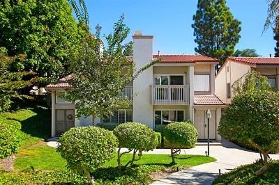 San Diego Condo/Townhouse For Sale: 6834 Caminito Montanoso #11