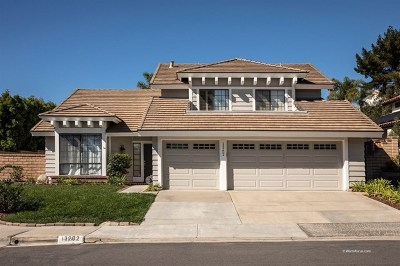 San Diego Single Family Home For Sale: 13202 Courtland Terrace