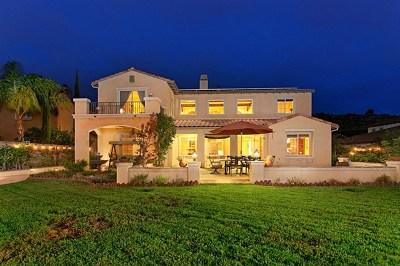 Escondido Single Family Home For Sale: 2521 Honeybell Lane