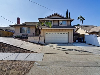 Chula Vista Single Family Home Active Under Contract: 474 E J St
