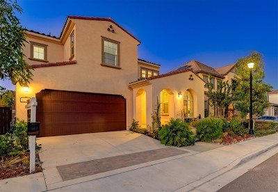 San Diego CA Single Family Home For Sale: $1,039,000