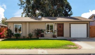 San Diego Single Family Home For Sale: 8519 Jade Coast Dr
