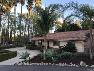 Fallbrook Single Family Home For Sale: 711 W Winterhaven Road