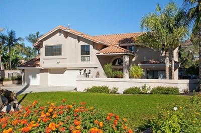 La Mesa Single Family Home For Sale: 9812 Lyncarol Dr.