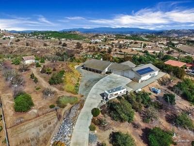 Bonsall Single Family Home For Sale: 6416 Lago Grande Dr