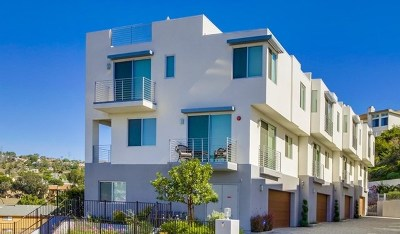 Carlsbad Condo/Townhouse For Sale: 7570 Gibraltar St #102