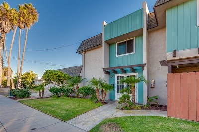 Imperial Beach Condo/Townhouse For Sale: 111 Citrus Ave