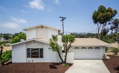 La Mesa Single Family Home For Sale: 9524 Milden St