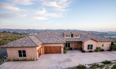 Bonsall Single Family Home For Sale: 31907 Jimdoora Way