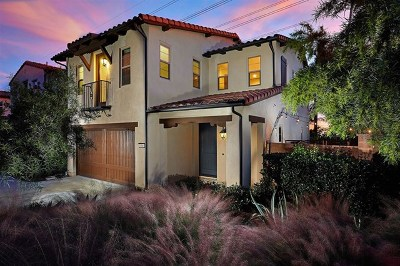 Carlsbad Single Family Home For Sale: 1509 White Sage Way