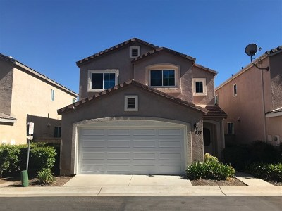 San Marcos Single Family Home For Sale: 877 Wisteria Dr