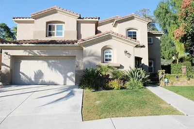Chula Vista Single Family Home For Sale: 2571 Crooked Trail Rd