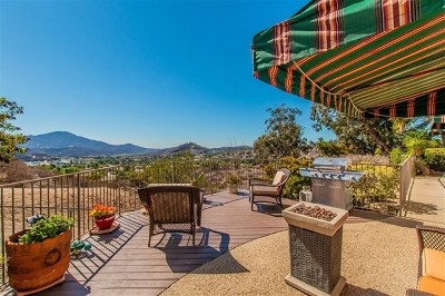 El Cajon Single Family Home For Sale: 1811 Penasco