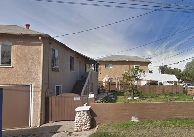Lemon Grove Multi Family Home For Sale: 7285 Pacific Ave