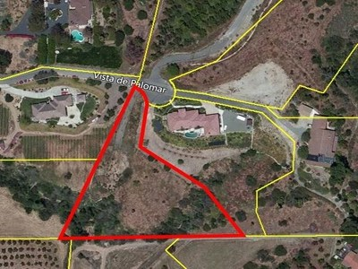 Fallbrook Residential Lots & Land For Sale: 2651 Vista De Palomar