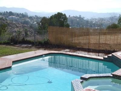El Cajon Single Family Home For Sale: 1811 Hidden Mesa