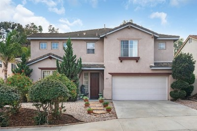 San Marcos Single Family Home For Sale: 227 Falcon Place
