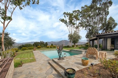Fallbrook Single Family Home For Sale: 1601 Wilt Rd