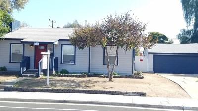 El Cajon Single Family Home For Sale: 559 Ballantyne Street