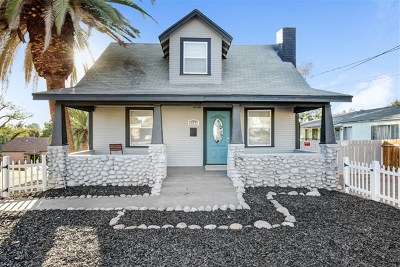 Lemon Grove Single Family Home For Sale: 3144 Vista Avenue