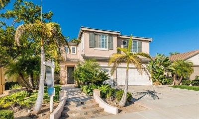 Carlsbad Single Family Home For Sale: 1205 Mariposa Rd