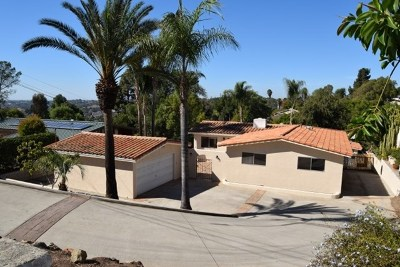 Spring Valley Single Family Home For Sale: 10366 Ramona Drive