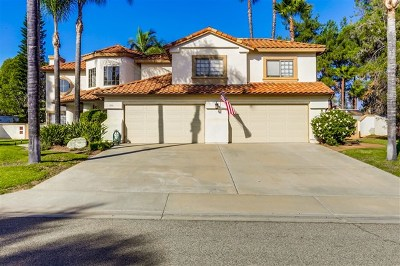 Escondido Single Family Home For Sale: 1170 Dexter