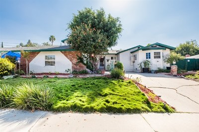 Spring Valley Single Family Home For Sale: 10035 Norte Mesa