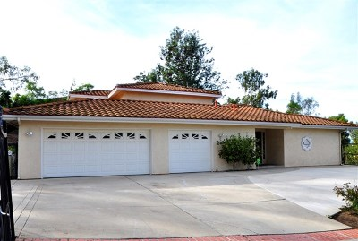 Vista Single Family Home For Sale: 1834 Voluntary Rd