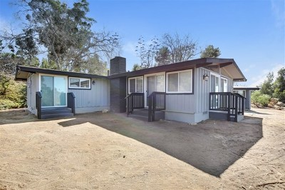Spring Valley Single Family Home For Sale: 2310 Highview Lane
