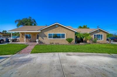 Hemet, San Jacinto Single Family Home For Sale: 27015 Dartmouth St