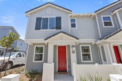 Imperial Beach Condo/Townhouse For Sale: 513 Turnstone Lane