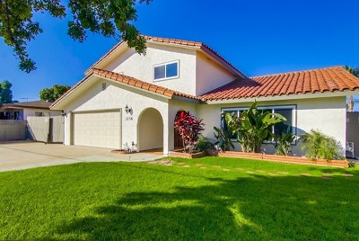 Imperial Beach Single Family Home For Sale: 1156 Emory