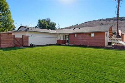 Poway Single Family Home For Sale: 12503 Buckskin Trl