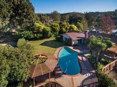 Bonita Single Family Home For Sale: 251 Camino Elevado