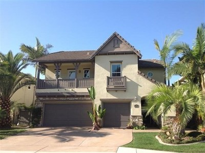 Carlsbad Single Family Home For Sale: 2172 Dickinson Dr