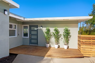 La Mesa Single Family Home For Sale: 9469 Grossmont Blvd