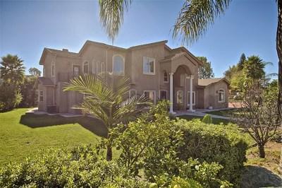 El Cajon Single Family Home For Sale: 2173 Donahue