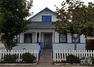 National City Single Family Home For Sale: 1240 Harding Ave