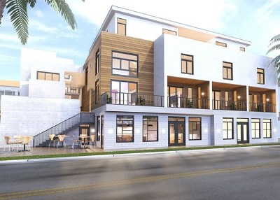 Oceanside Condo/Townhouse For Sale: 314 N Cleveland #Penthous