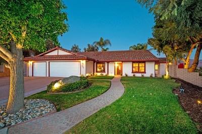 Bonita Single Family Home For Sale: 2727 Paseo Potril